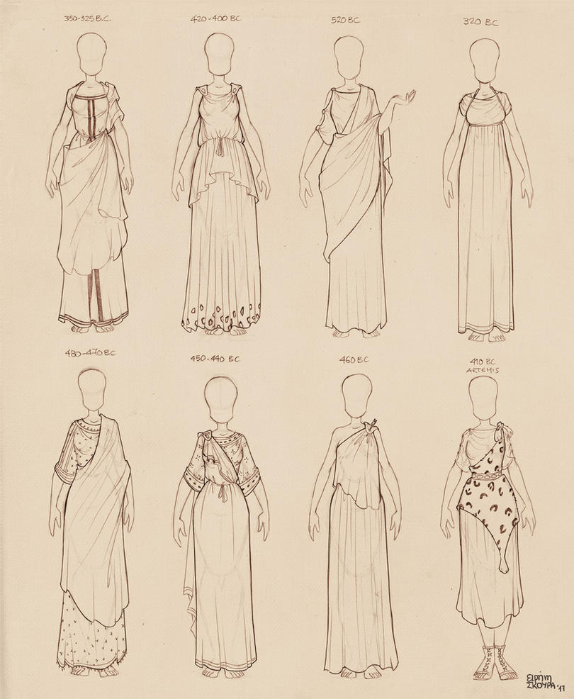 Ancient Greek Dresses Vol 2 by Ninidu