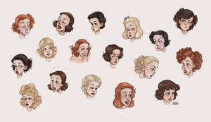 1930s Hairstyles for Women