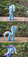 THE GREAT AND POWERFUL TRIXIE... In socks