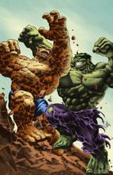 Thing vs Hulk