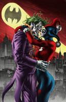 Joker and Harley by apalomaro