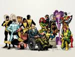 Uncanny X-Men Sample Colors