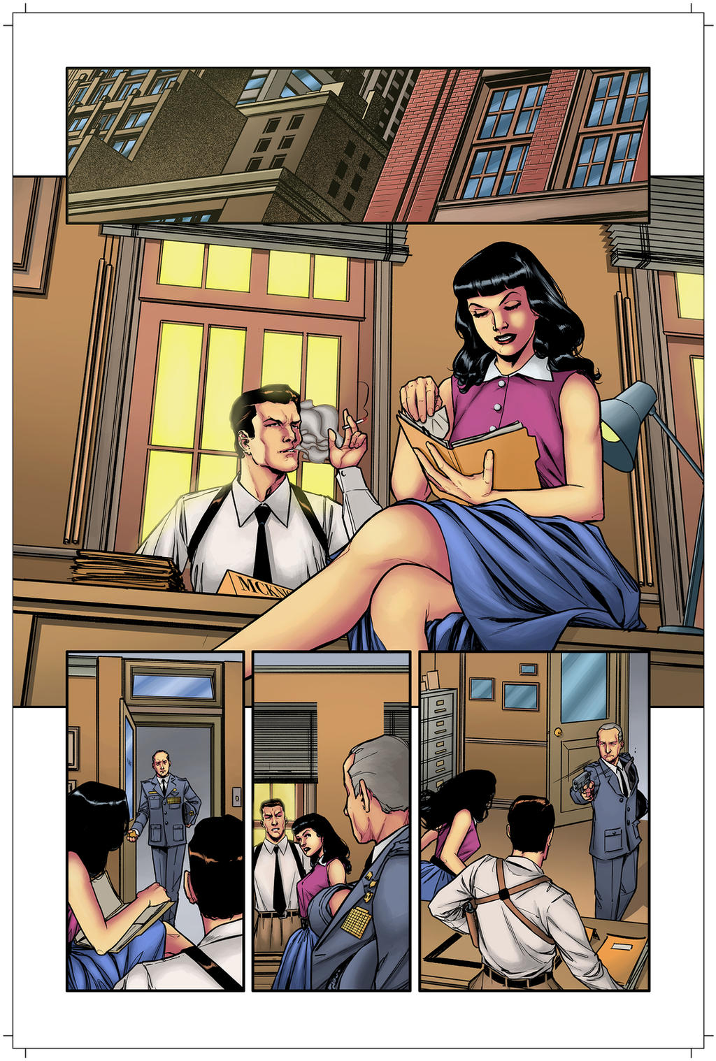 Bettie Page Unbound 6 pag 01