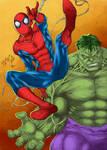 Spider And Hulk