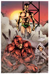 Daredevil vs Namor