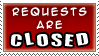 Request Closed Stamp