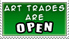 Art Trades Open by SquirtleStamps