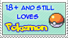 Still Loves Pokemon by SquirtleStamps