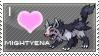 Mightyena Love Stamp by SquirtleStamps