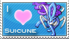 Suicune Love Stamp by SquirtleStamps