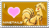 Ninetails Love Stamp by SquirtleStamps