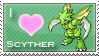 Scyther Love Stamp by SquirtleStamps
