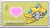 Jirachi Love Stamp by SquirtleStamps