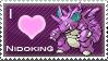 Nidoking Love Stamp by SquirtleStamps