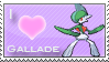 Gallade Love Stamp by SquirtleStamps