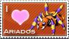 Ariados Love Stamp