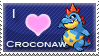 Croconaw Love Stamp by SquirtleStamps