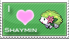 Shaymin Love Stamp by SquirtleStamps