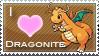 Dragonite Love Stamp by SquirtleStamps