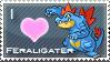 Feraligater Love Stamp