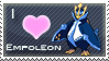 Empoleon Love Stamp by SquirtleStamps