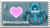 Bronzong Love Stamp by SquirtleStamps