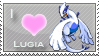 Lugia Love Stamp by SquirtleStamps