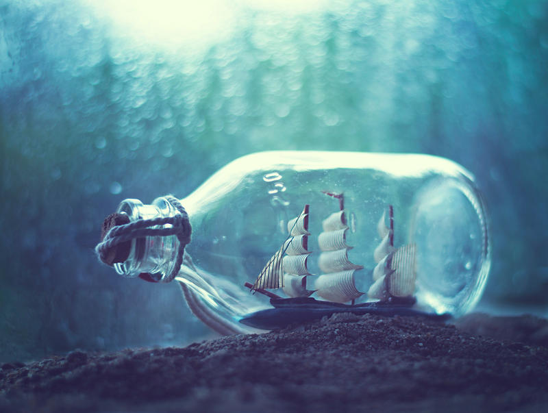 bottled dream by arefin03 on deviantart