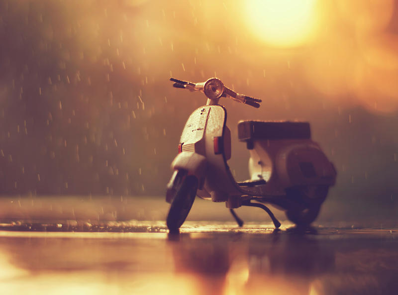 Rainy Ride by arefin03