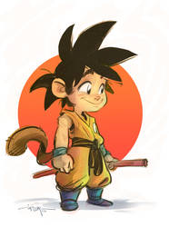 GOKU by 3nrique