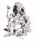 Lizard Huntress