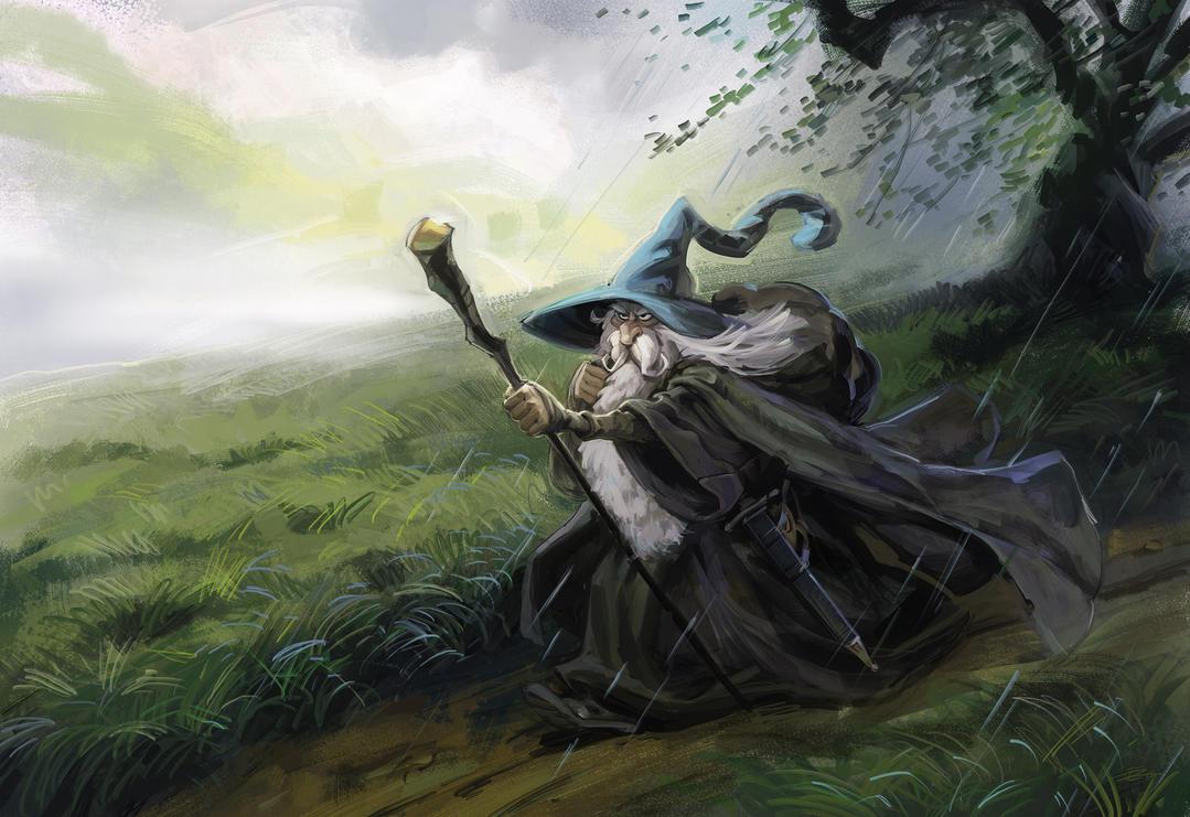 JohnHowe Gandalf by 3nrique