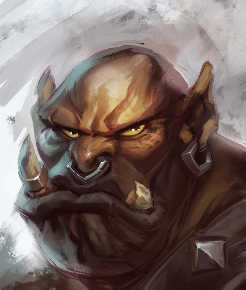 Garrosh Hellscream by 3nrique