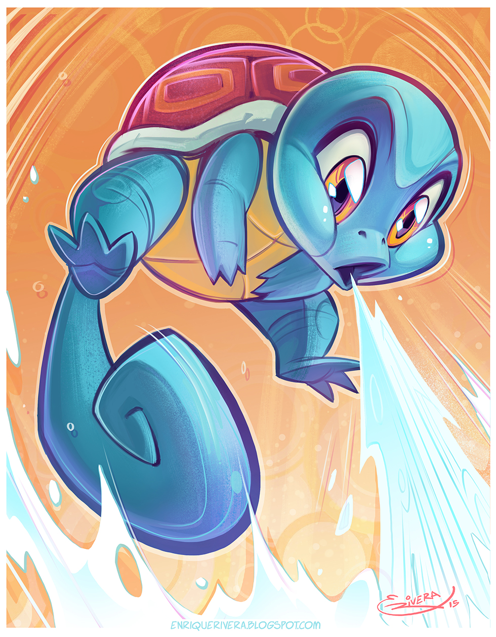 Squirtle by 3nrique