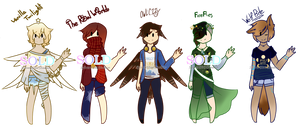 OwlCity Song ADOPTS {CLOSED} by KodaConstellation
