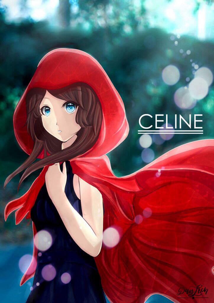 CELINE - A RED TALE by Danllen
