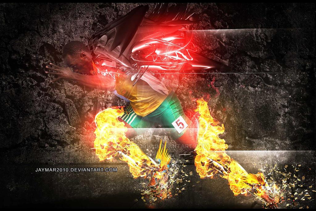 Usain Bolt by Jaymar2010