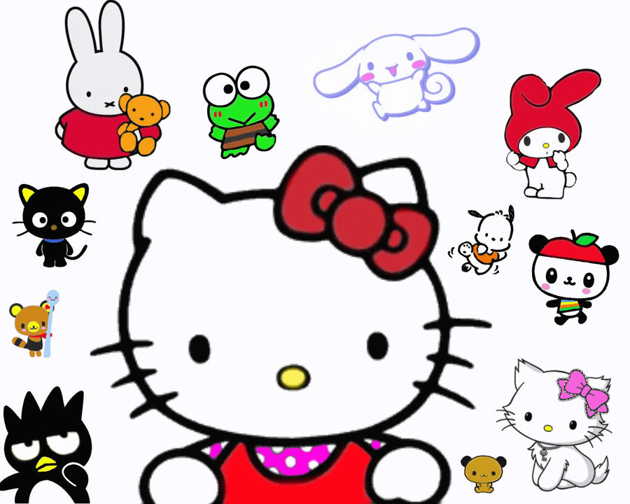 Free Hello Kitty Valentine Coloring Pages