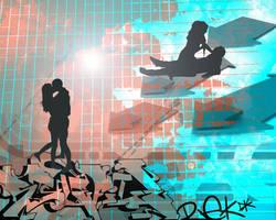 graff love on demand by Jentapoze