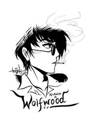 Nicholas D. Wolfwood by noir-hearts