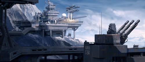 Military Base by NataliaBabiy