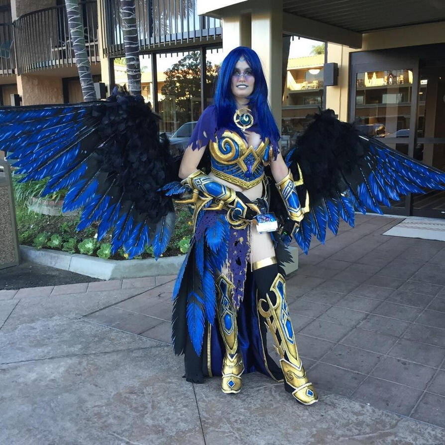 Anzu The Raven Lord Blizzcon 2014 by Zanziabar
