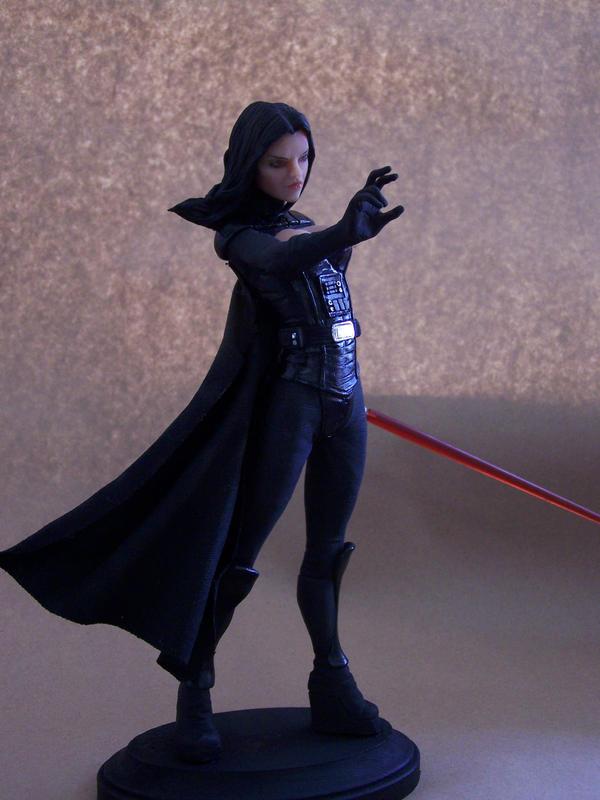Mandalorian Female statue by David Johnson Lady_Vader_by_spectrestudios