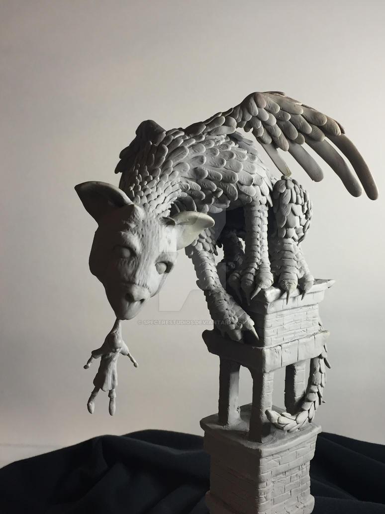 Last Guardian Fan Art contest FINALIST!! by spectrestudios
