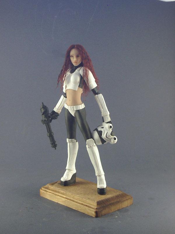 female stormtrooper by spectrestudios