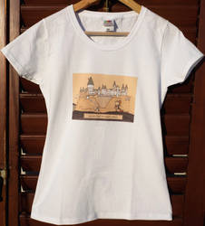 Hogwarts t-shirt by IssaArts