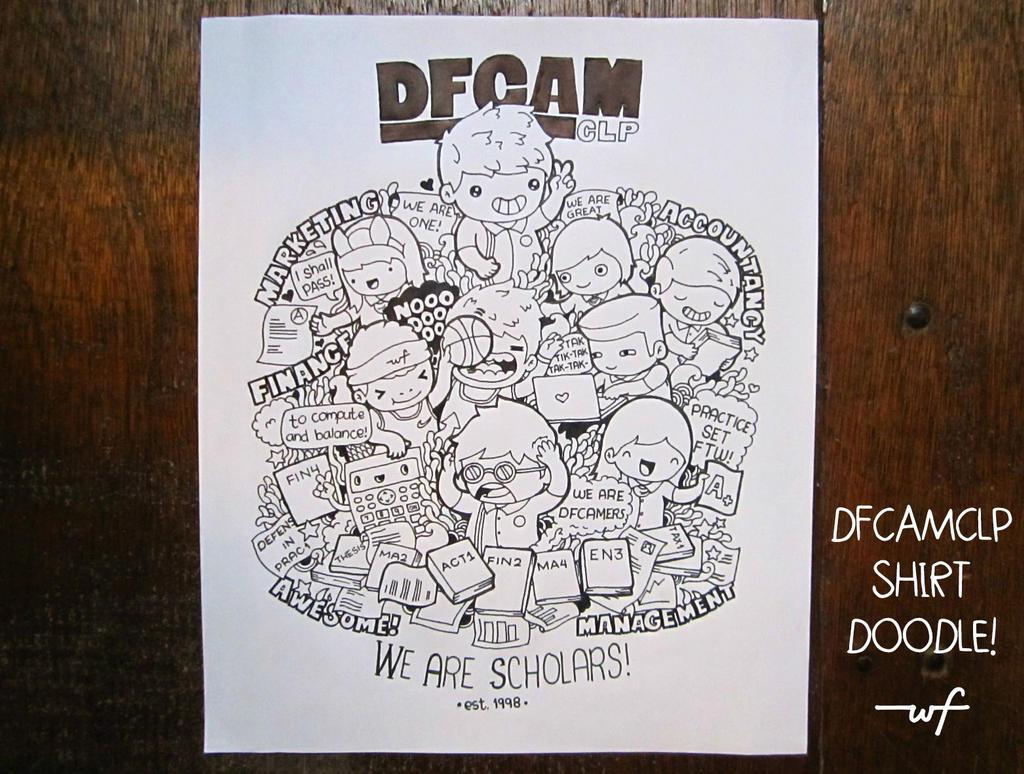 DFCAM Shirt Doodle by wilyamiyoo