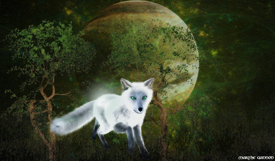 The spirit of a fox