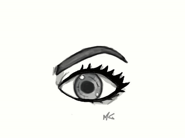 Eye contest, how to draw an eye