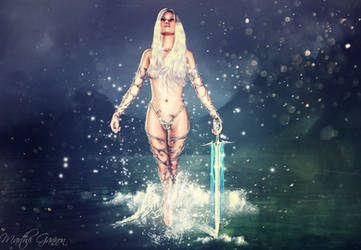 Lady of the lake rising
